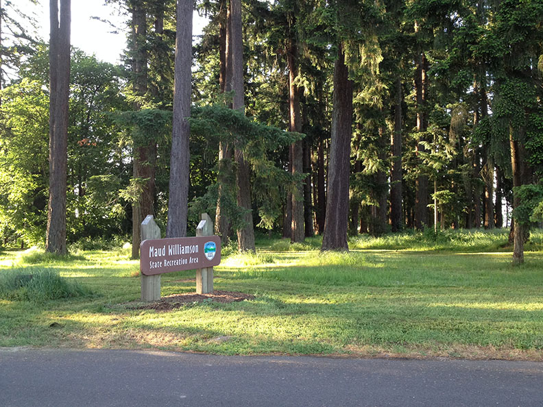 Photo of the park entrance